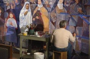 Artist to discuss life-size mural at Mesa church
