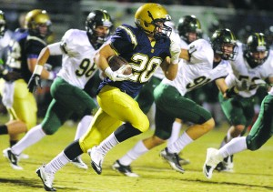 Desert Vista runs past Basha