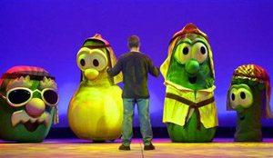 Talking veggies stir controversy at NBC