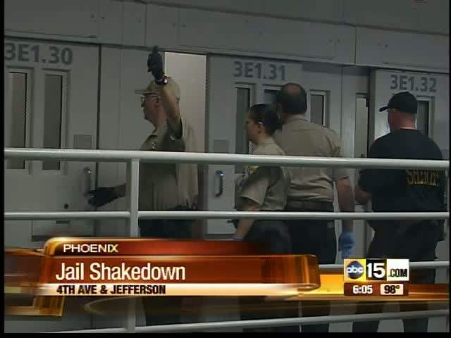 4th Avenue Jail shakedown
