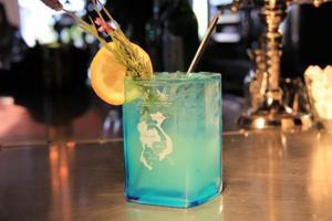 Lavender Lemon Fizz craft cocktail