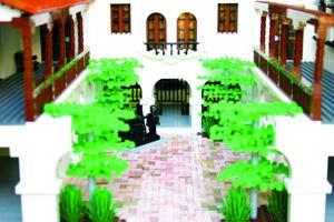 Heard courtyard