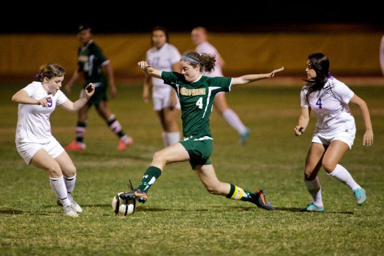 Campo Verde girls soccer