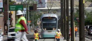 Valley Metro tests Tempe-Mesa light-rail segment