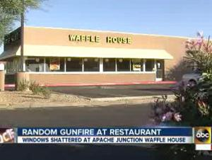 Shots fired at Apache Junction Waffle House