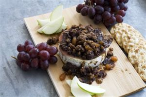 Food-American Table-Grilled Brie