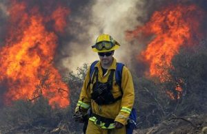 California wildfires strain state's resources