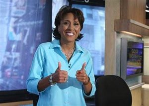 Robin Roberts: prognosis `quite good'