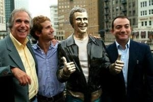 Bronze Fonz now an 'Ayyyy'-list celeb in Milwaukee