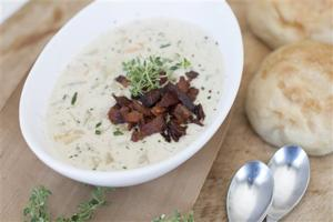 Food Clam Chowder