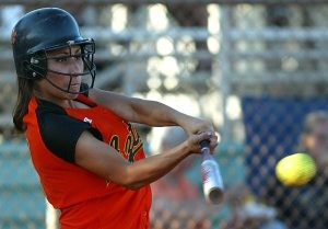 Corona outslugs Xavier to reach state softball title game