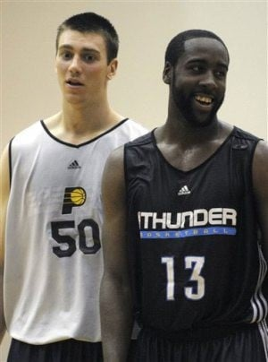 Harden, Hansbrough steal summer spotlight
