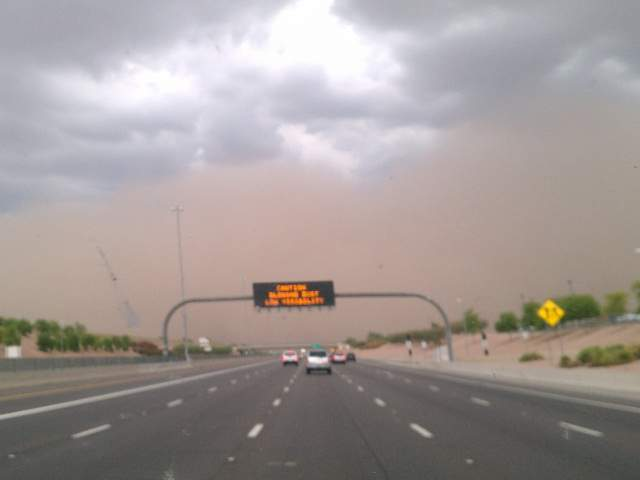 East Valley Dust Storm