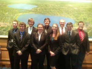 Red Mountain High School Academic Decathlon team
