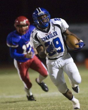 Hundley does it all as Chandler edges Mtn. View