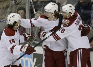 Coyotes' timing perfect in Dallas