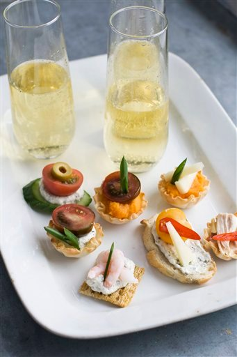 Food-Oscars Canapes