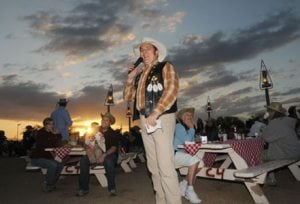 Steve Barker Band draws fans to Rawhide cookouts