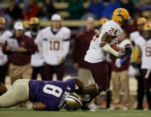 Sun Devils held struggling Huskies to just one TD
