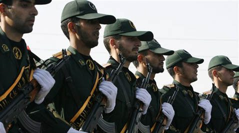 Revolutionary Guard tightens hold in Iran