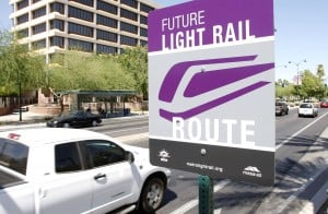Light Rail Route