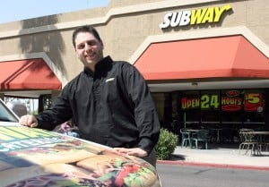 Subway delivers