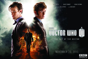 Doctor Who Day of the Doctor Special Event