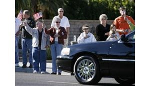 Tributes to Ford begin in California