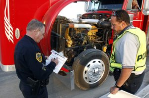 MVD, officers cite unsafe vehicles during inspections