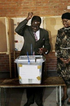 Widespread intimidation seen in Zimbabwe vote