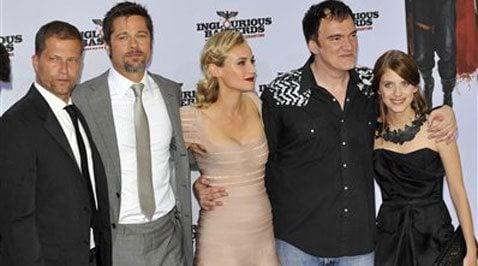 Pitt, Tarantino's 'Basterds' earns glorious $37.6M