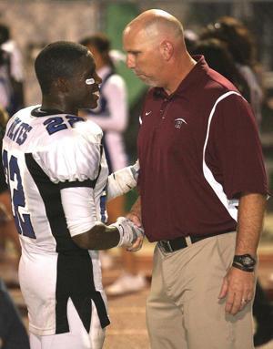 Steve Belles -- Hamilton football coach