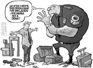 TSA cartoon