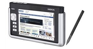 Nokia unveils handheld Internet tablet