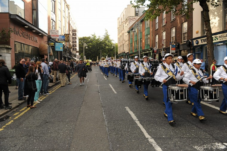 Global Ireland Football Tournament 2012 - Parade