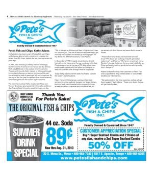 Pete's Fish & Chips Inc.