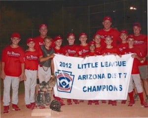 Red Mountain American Little League Majors