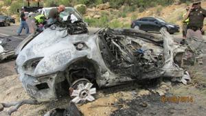 Head-on collision in Utah