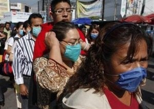 Mexico swine flu deaths spur global epidemic fears
