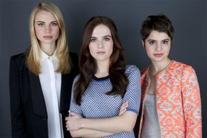 Lucy Fry, Zoey Deutch, Sami Gayle