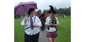Harry Potter fans create makeshift college