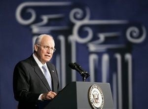 VP Cheney visits Legion Convention in Phoenix