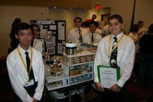 Accelerated Middle School at Basha High Aerospace Challenge team