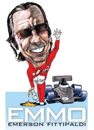 Automotive Legends and Heroes: Emmo, Emerson Fittipaldi