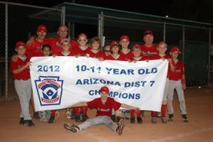 Red Mountain American Little League Mid-Majors