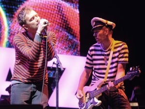 Damon Albarn, Paul Simonon