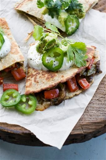 Food-Healthy-Quesadillas
