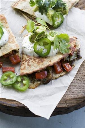 Food-Healthy-Quesadillas