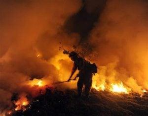 More than 30K told to flee Santa Barbara fire