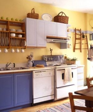 Update an old-fashioned kitchen with tips from the Shakers